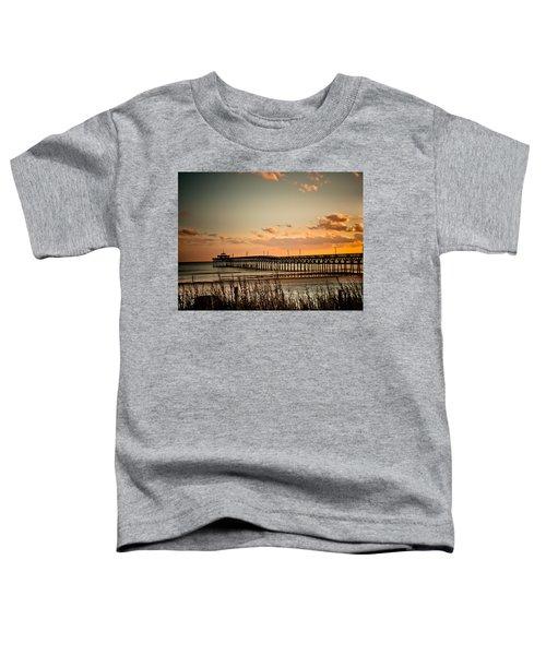 Cherry Grove Pier Myrtle Beach Sc Toddler T-Shirt