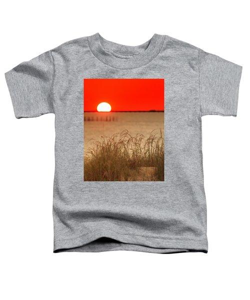 Chesapeake Sunset Toddler T-Shirt