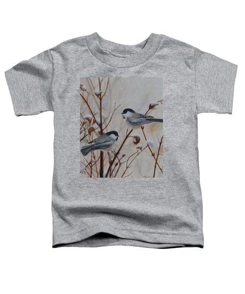Chickadees Toddler T-Shirt