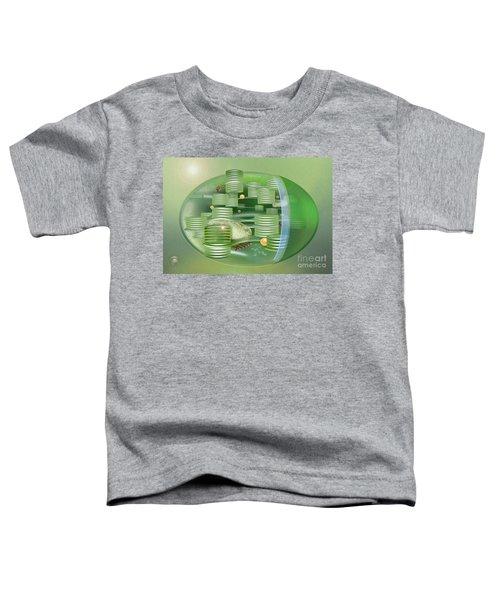 Chloroplast - Basis Of Life - Plant Cell Biology - Chloroplasts Anatomy - Chloroplasts Structure Toddler T-Shirt