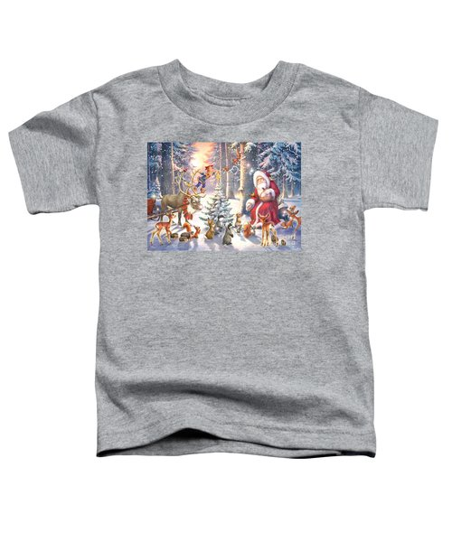 Christmas In The Forest Toddler T-Shirt