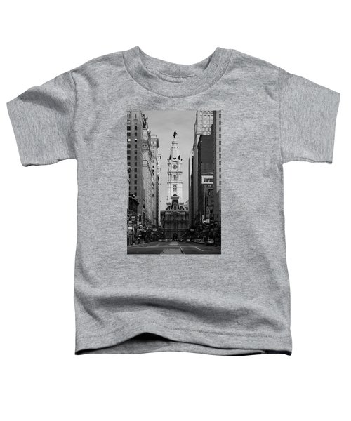 City Hall B/w Toddler T-Shirt