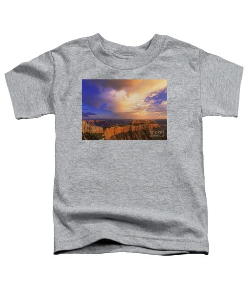 Clearing Storm Cape Royal North Rim Grand Canyon Np Arizona Toddler T-Shirt