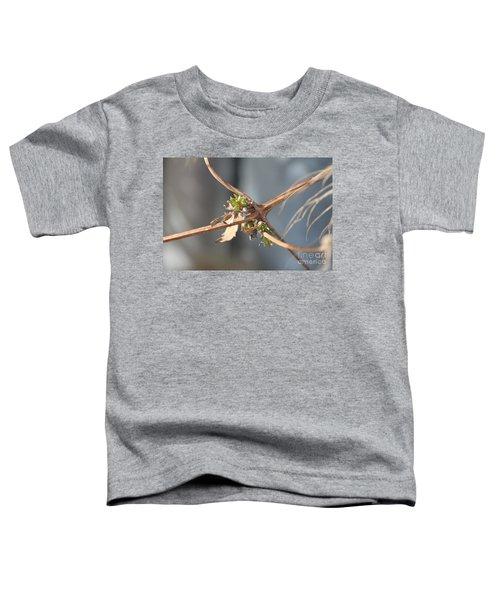 Clematis Vine Toddler T-Shirt