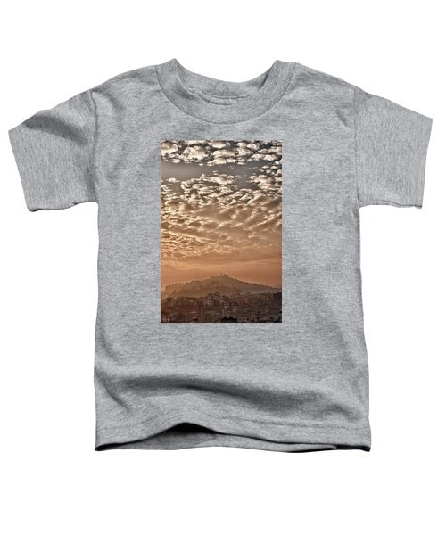 Cloud Over Kathmandu Toddler T-Shirt