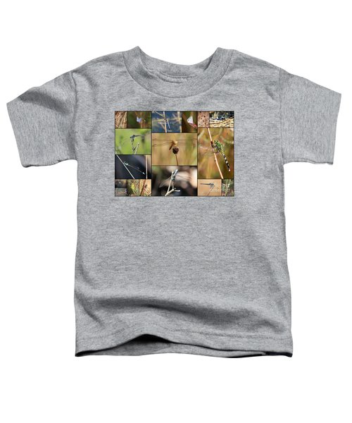 Collage Marsh Life Toddler T-Shirt