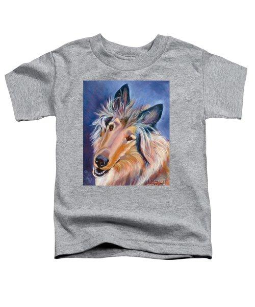 Collie Star Toddler T-Shirt