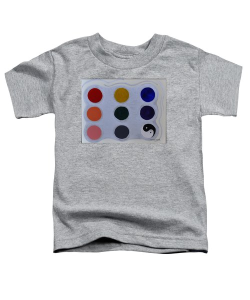 Color From The Series The Elements And Principles Of Art Toddler T-Shirt