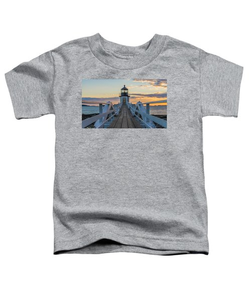 Colorful Ending Toddler T-Shirt