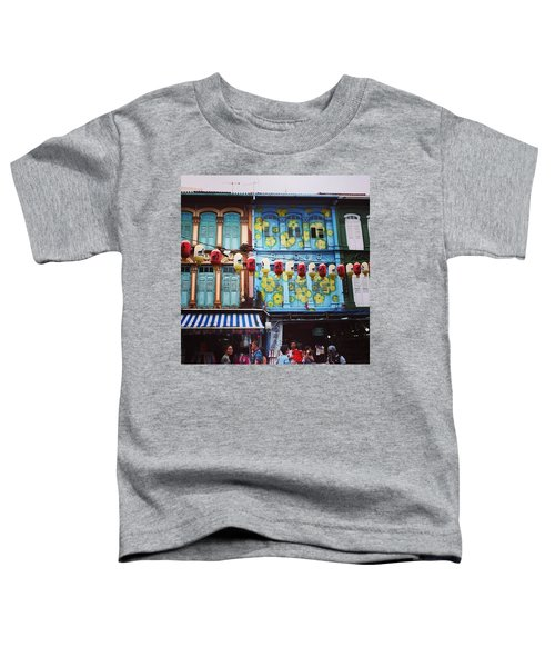 Colourful Singapore Toddler T-Shirt