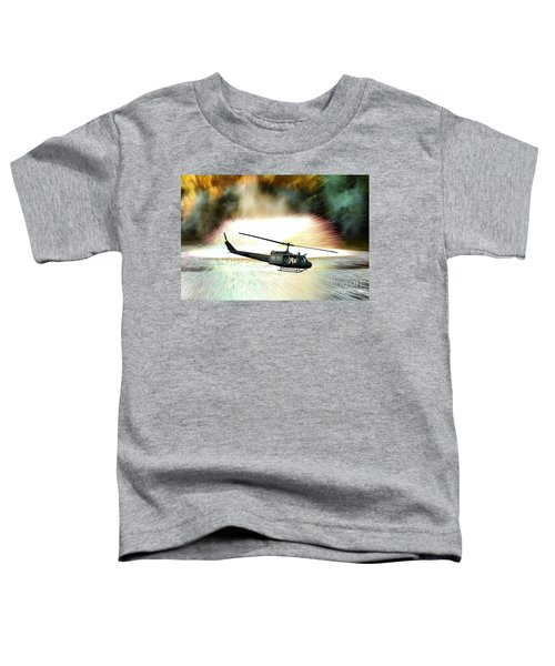 Combat Helicopter Toddler T-Shirt