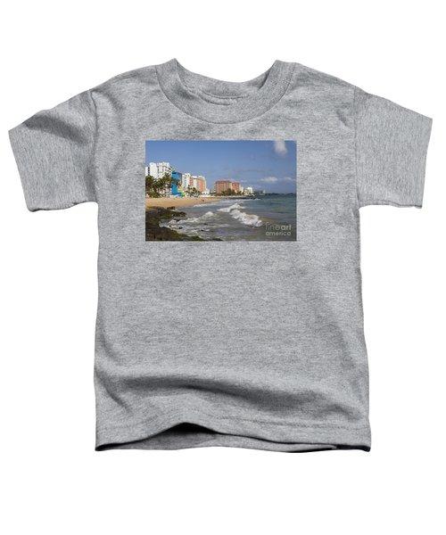 Condado Beach San Juan Puerto Rico Toddler T-Shirt