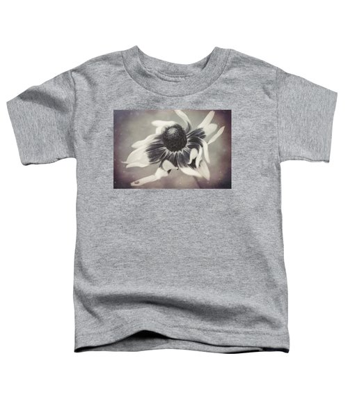 Coneflower In Monochrome Toddler T-Shirt