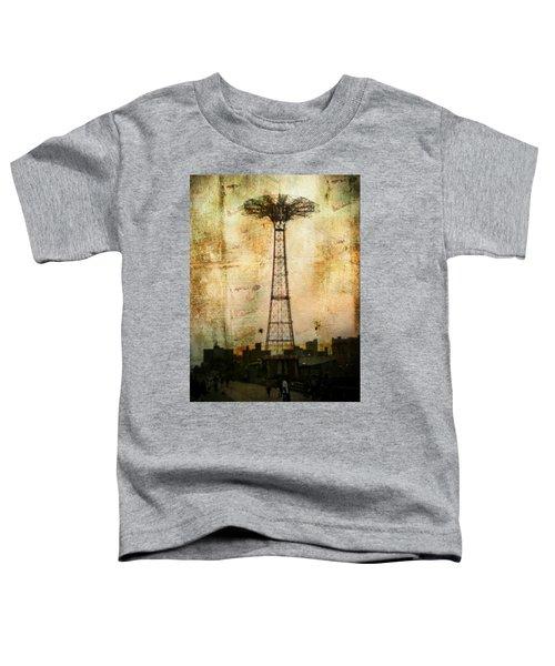 Coney Island Eiffel Tower Toddler T-Shirt