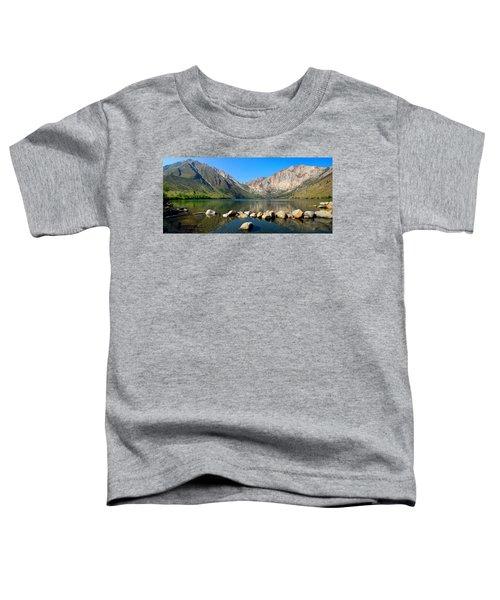 Convict Lake Panorama Toddler T-Shirt