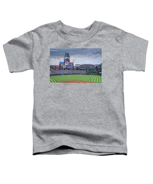 Coors Field Toddler T-Shirt
