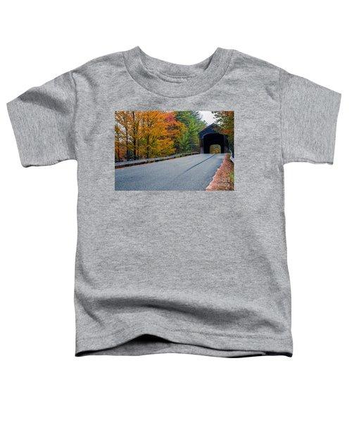 Corbin Covered Bridge New Hampshire Toddler T-Shirt