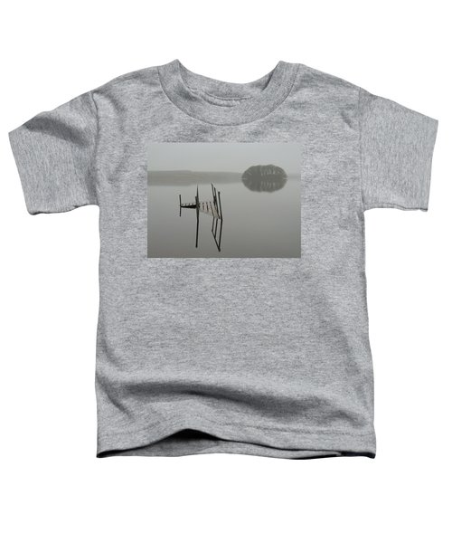 Toddler T-Shirt featuring the photograph Crannog At Lake Knockalough by James Truett