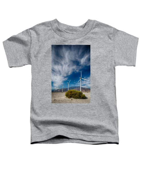 Creosote And Wind Turbines Toddler T-Shirt