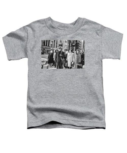 Crossing Manhattan Toddler T-Shirt