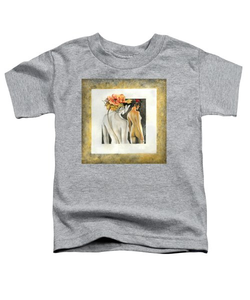 Crossing To The Another Side Of The  Shadow Toddler T-Shirt
