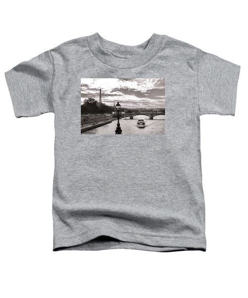 Cruise On The Seine Toddler T-Shirt