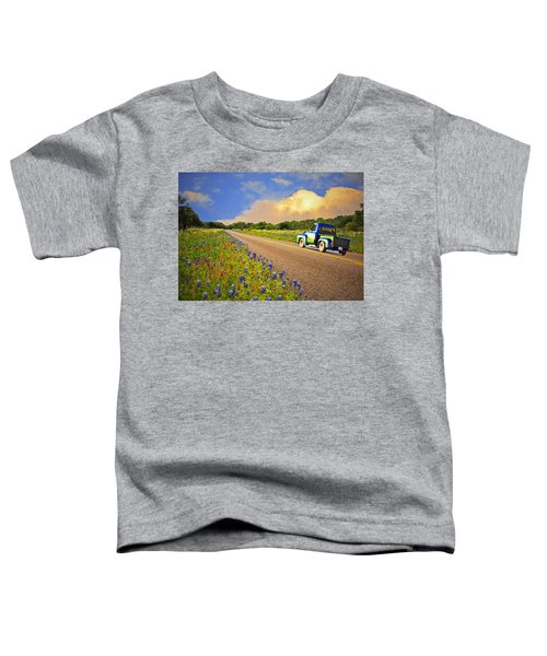 Crusin' The Hill Country In Spring Toddler T-Shirt