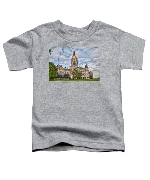 Ct State Capitol Building Toddler T-Shirt