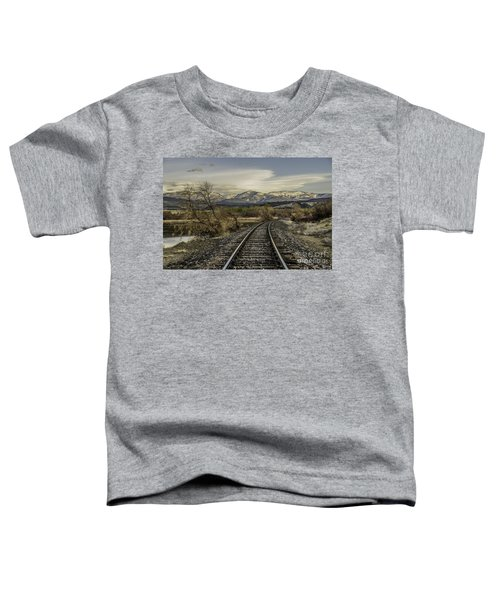 Curve In The Tracks Toddler T-Shirt
