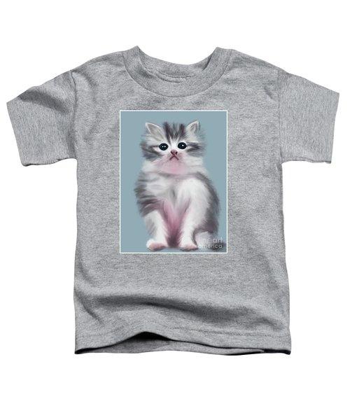 Cute Kitten Toddler T-Shirt