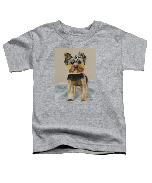 Cute Yorkie Toddler T-Shirt