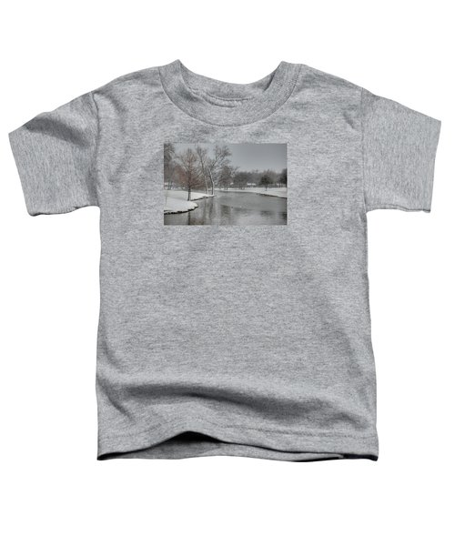 Dallas Snow Day Toddler T-Shirt
