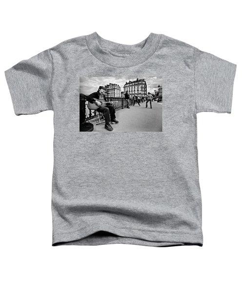Dancing In The Streets Of Paris / Paris Toddler T-Shirt