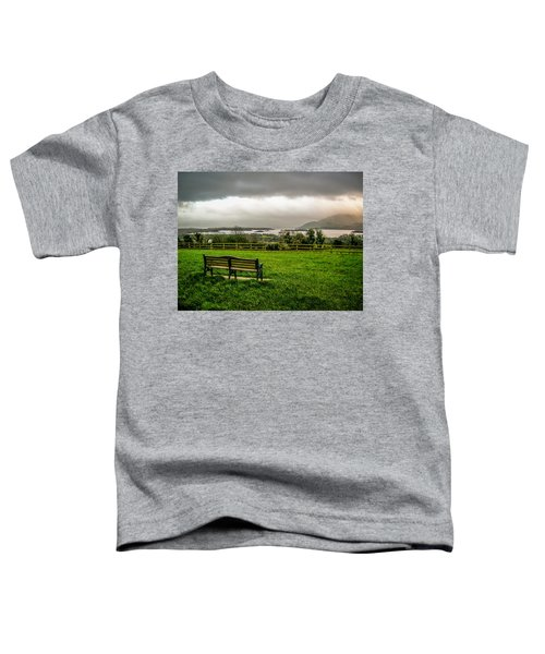 Dark Clouds Over Killarney Lakes Toddler T-Shirt