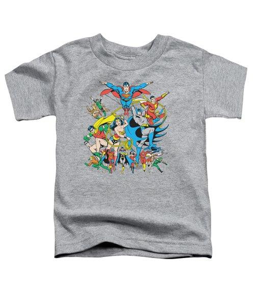 Dc - Justice League Assemble Toddler T-Shirt