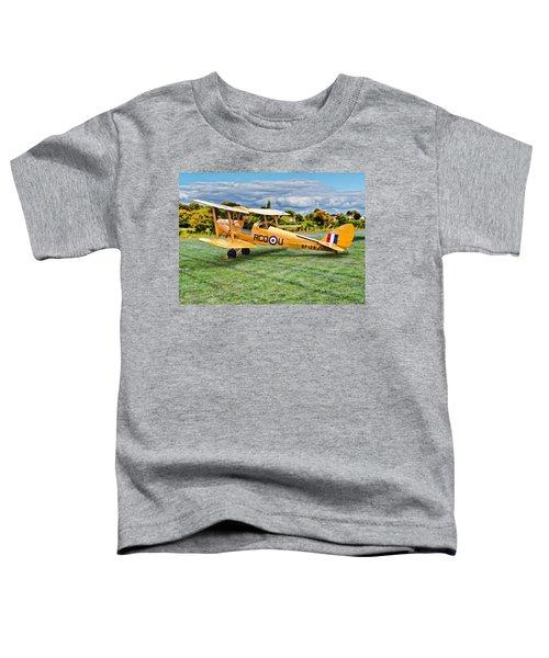 De Havilland Dh82 Tiger Moth Toddler T-Shirt