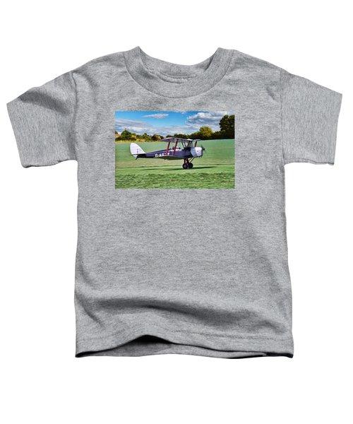 De Havilland Tiger Moth Toddler T-Shirt