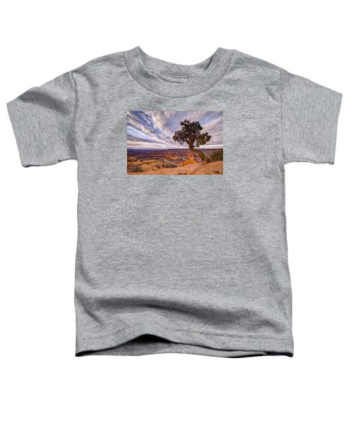 Dead Horse Point Sunrise Toddler T-Shirt