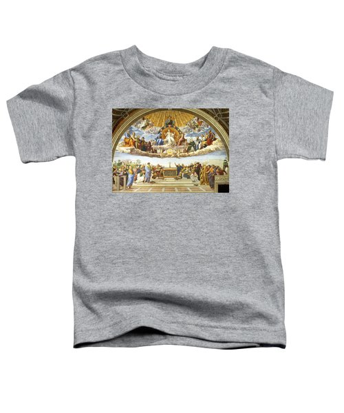 Disputation Of Holy Sacrament. Toddler T-Shirt