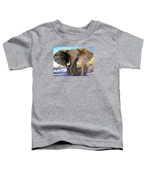 Da108 Distant Thunder By Daniel Adams Toddler T-Shirt