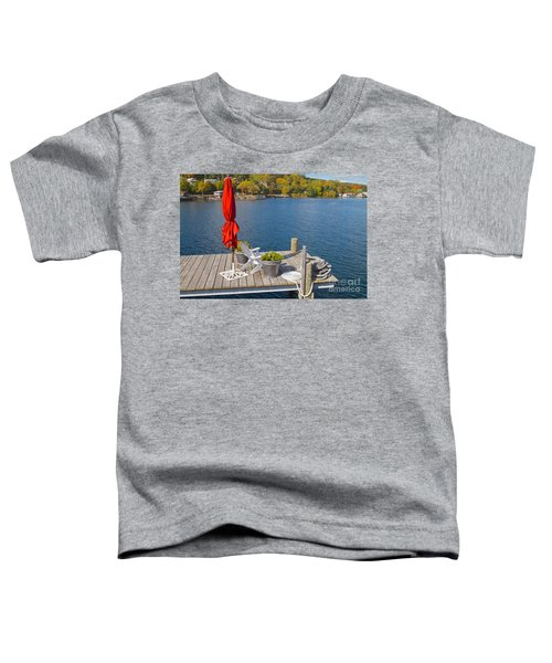 Dock By The Bay Toddler T-Shirt