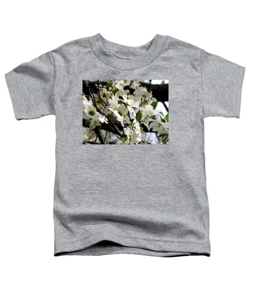 Dogwoods In The Spring Toddler T-Shirt