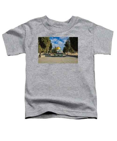 Dome Of The Rock Toddler T-Shirt