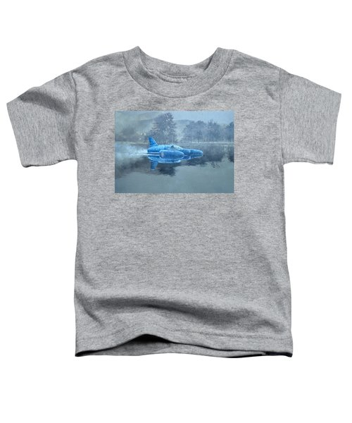 Donald Campbell And Bluebird Oil On Canvas Toddler T-Shirt