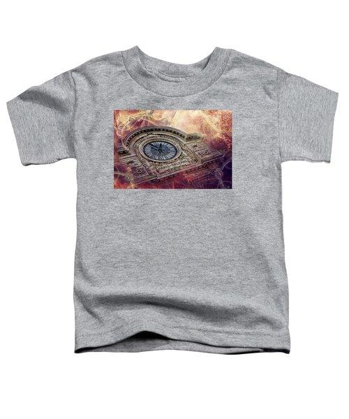 D'orsay Clock Paris Toddler T-Shirt