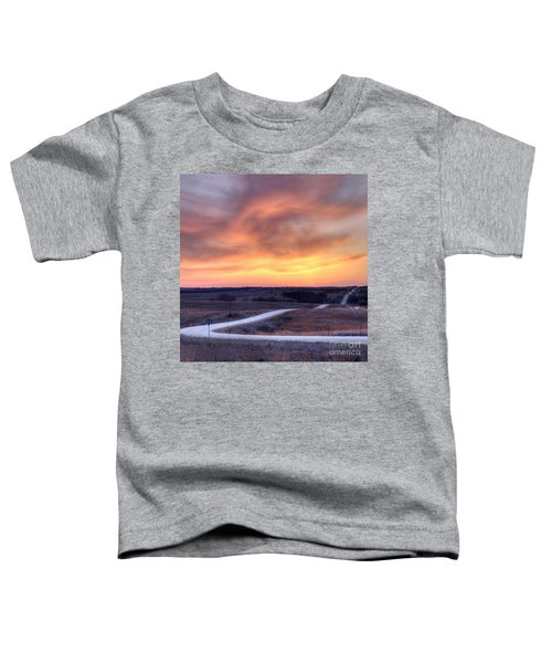 Down To The Rolling Hills Toddler T-Shirt