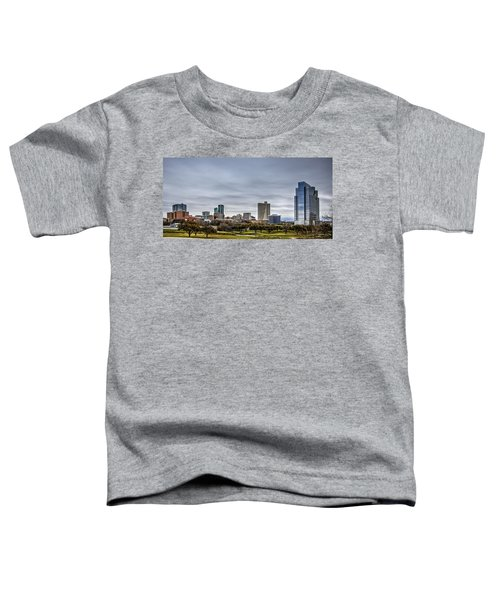 Downtown Fort Worth Trinity Trail Toddler T-Shirt