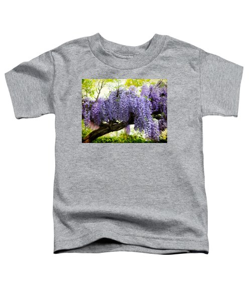 Draping Wisteria Toddler T-Shirt