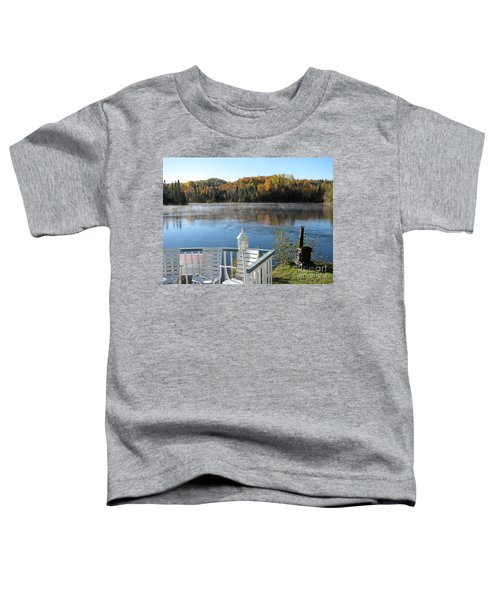 Early Autumn Morning Toddler T-Shirt