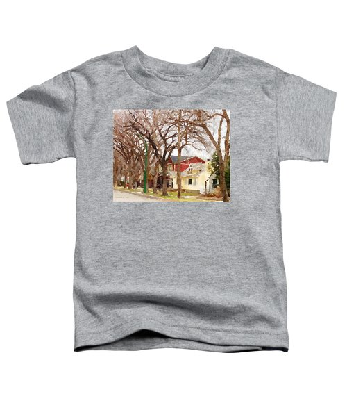 Early Spring Street Toddler T-Shirt